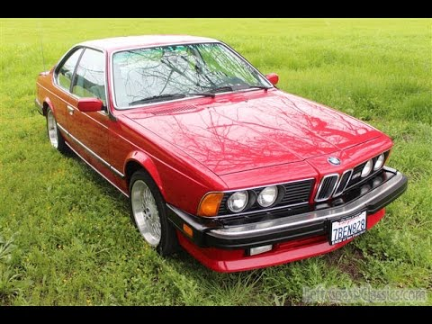 1987 bmw m6 shark for sale in zimmeroot over gray leather youtube. Black Bedroom Furniture Sets. Home Design Ideas