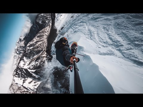 Snowboarding Deep Trees In Hakuba Japan (Happo-One)