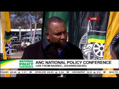 Johannesburg Expo Centre CEO - Craig Newman's interview during the ANC Policy Conference