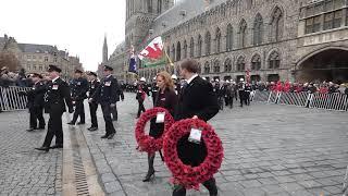 Ypres 11-11-18 Poppy Parade