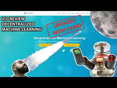 Decentralized Machine Learning ICO review - mobile phone powered AI