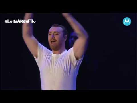 Sam Smith-HIM at Lollapalooza Argentina 2019
