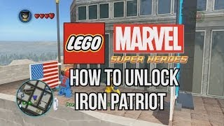 How to Unlock Iron Patriot - LEGO Marvel Super Heroes