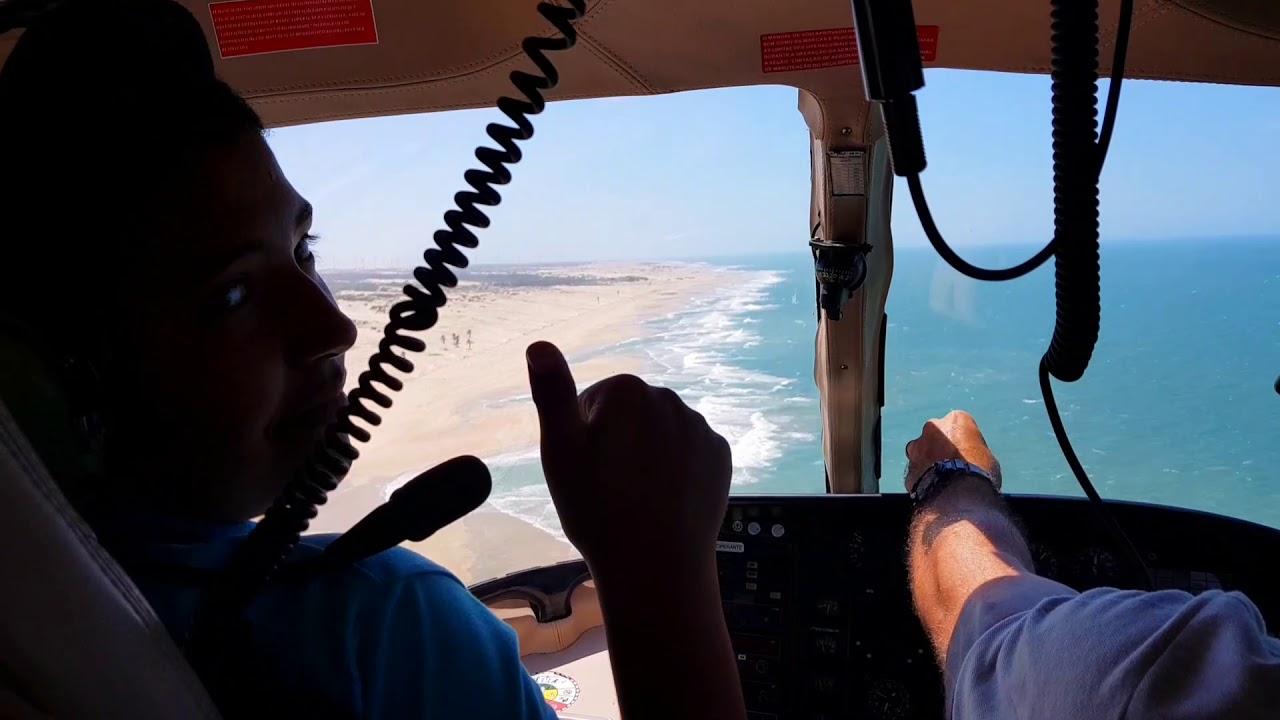 Fortaleza to Jericoacoara transfer by Helicopter
