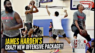 james-harden-bust-out-crazy-new-moves-at-rico-hines-runs-scoring-package-looking-next-level