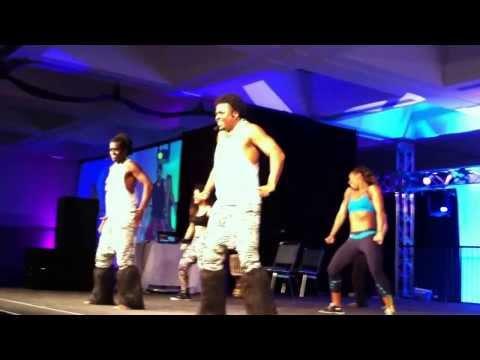Nicole Steen Dances at the 2014 LA Zumba Convention
