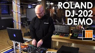 Roland DJ-202 Serato DJ Controller [Product Demonstration]