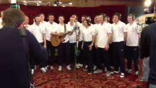 "Official Irish Euro 2012 song ""The Rocky Road to Poland"""