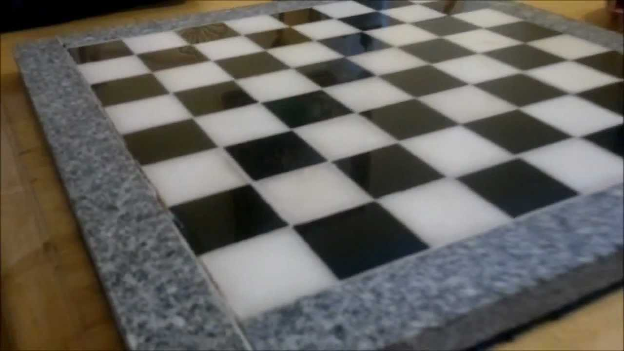 Marble Chess Boards Part 1 Youtube