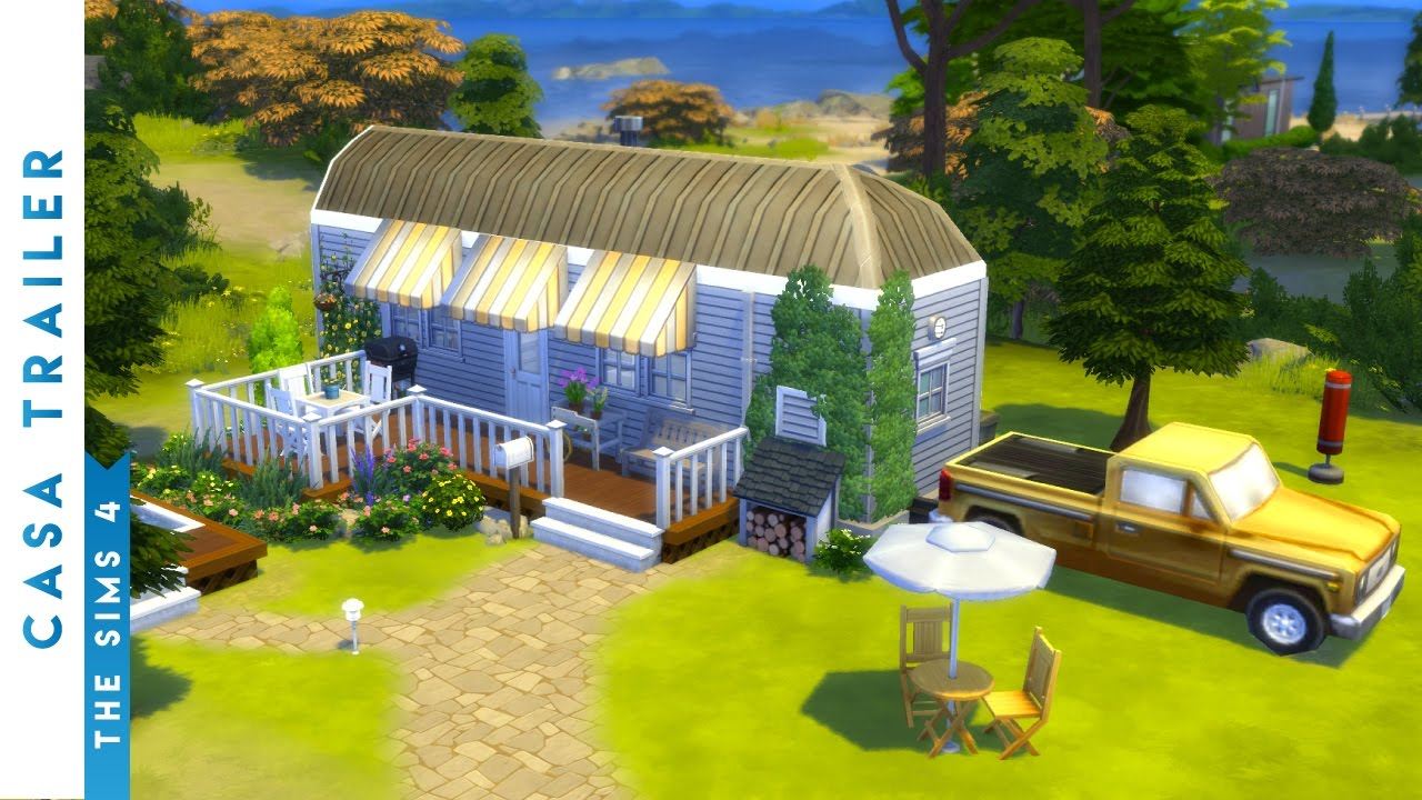 building a trailer home the sims 4 youtube building a trailer home the sims 4