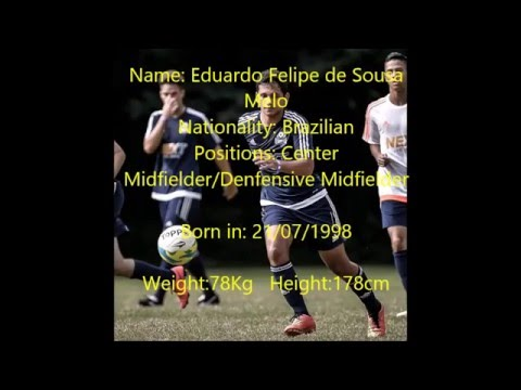 Eduardo Melo | Brazilian Center Midfielder | College Soccer recruitment
