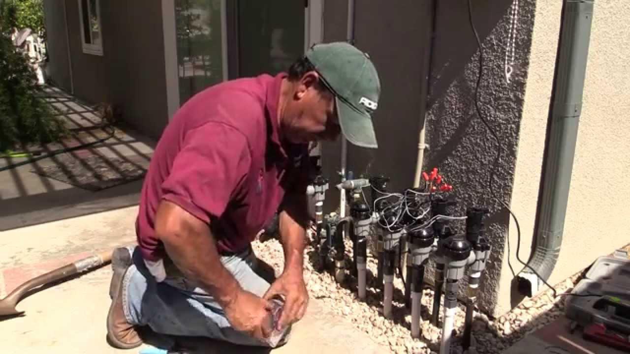 Sprinkler System Repair Troubleshooting You
