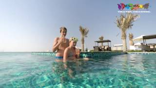 Luxury hotel reviews Jannah Hotel Burj Al Sarab including Happiness Island