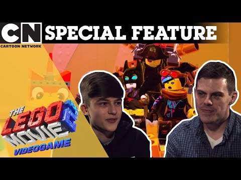 The LEGO Movie 2 Videogame | Fruity Interviews Game Director: Jamie Eden | Ad Feature: WB Sponsored