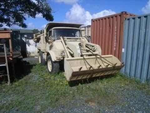 U.S. Army Industrial Wheeled Tractor on GovLiquidation.com