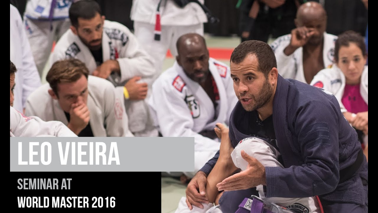 Master 2016 Leo Vieira Bjj Seminar At World Master 2016