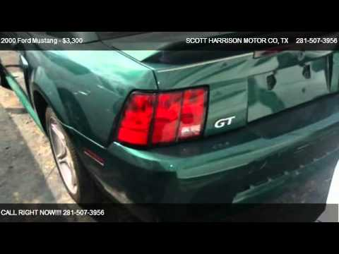 2000 ford mustang gt for sale in houston tx 77038 youtube