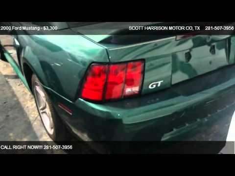 2000 ford mustang gt for sale in houston tx 77038 youtube for Scott harrison motors houston tx