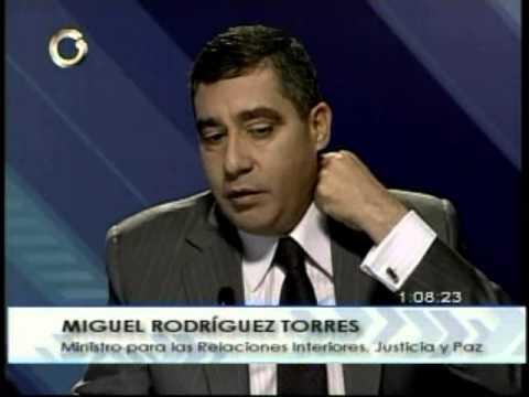 Vladimir Villegas entrevista al ministro Miguel Rodríguez Torres 1