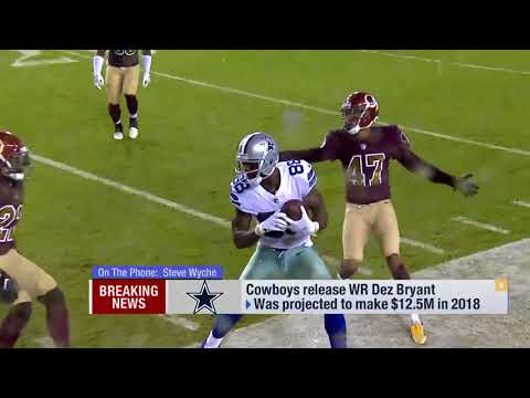 Wyche Expect an 'incredibly aggressive market' for Dez Bryant | Apr 13, 2018