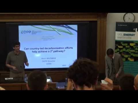 UCL-Energy Seminar: 'The Deep Decarbonization Pathways Project (DDPP)'