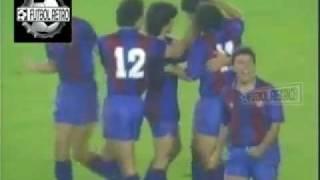 Real Madrid 3 vs Barcelona 2 Liga España 1988/89 Bakero, Hugo Sanchez FUTBOL RETRO TV