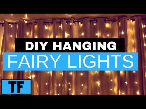 DIY LED Curtain Lights Review (Waterproof) | $15 Easy Wedding Fairy Wall Light Ideas