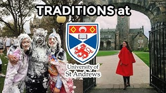 TRADITIONS at university of st andrews!! academic families, raisin weekend, academic sins
