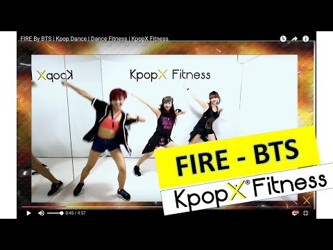 FIRE By BTS | Kpop Dance | Dance Fitness | KpopX Fitness