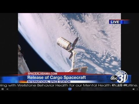 Cargo Craft To Be Released From International Space Station