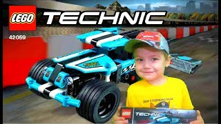 Lego Technic Трюковой грузовик 42059 Лего Техник Stunt Truck обзор