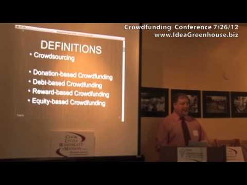 Tom Young on Crowdfunding 101 (Part 1 of 2)
