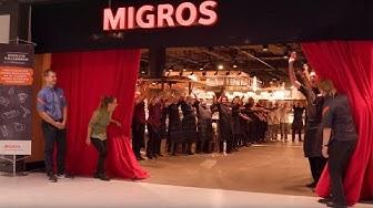 Eröffnung Migros Neuwiesen