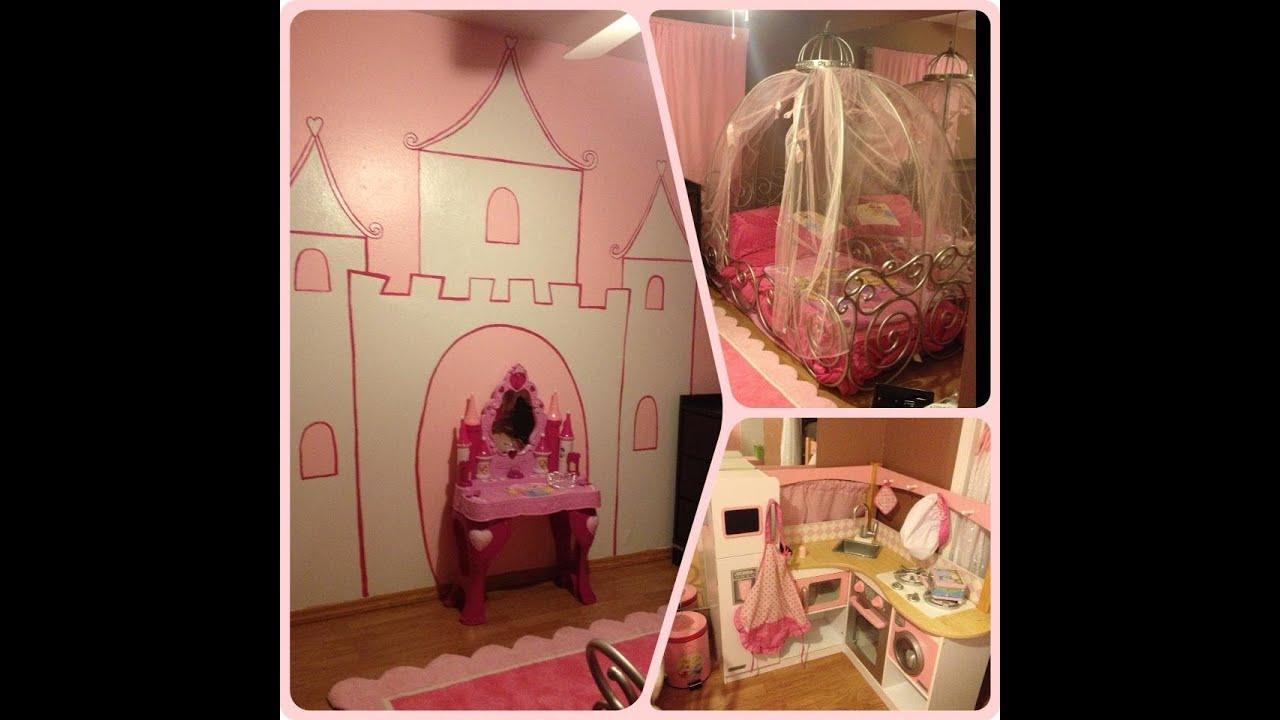 Project New Room! Diy Princess Room )  Youtube