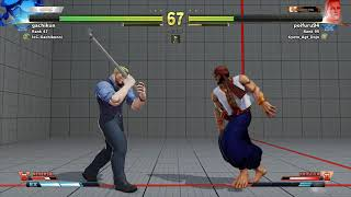SFV~ Rashid {gachikun} vs  Cody {poifuru94} HD 16