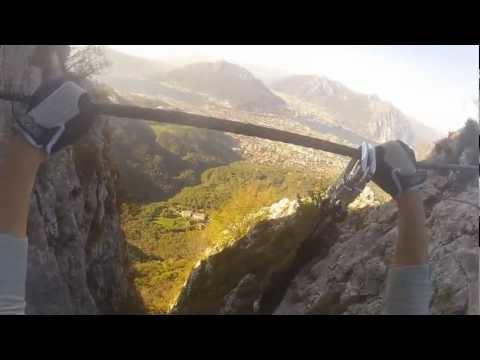 Via Ferrata al Pizzo Erna: Gamma 1 | GoPro HD