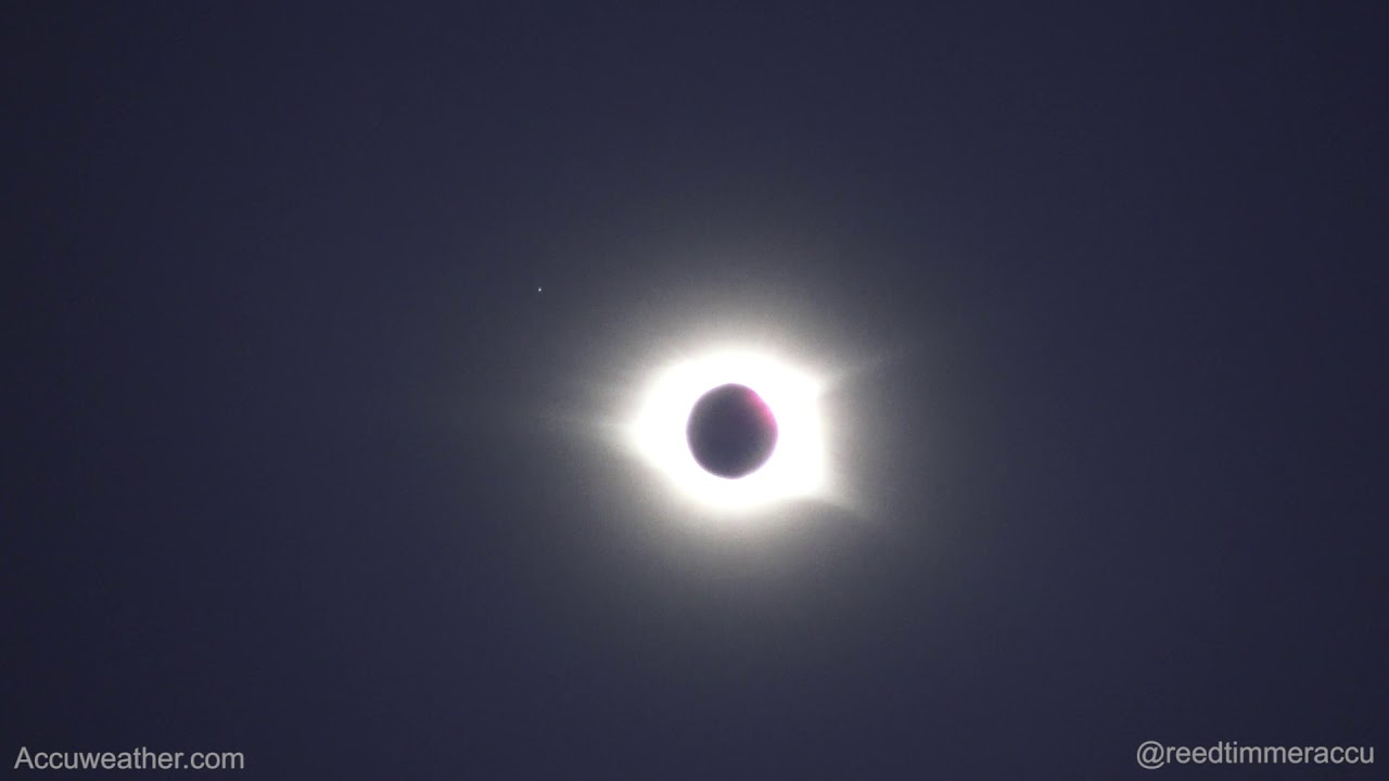Great American Eclipse of 2017 from Roper Mountain, Sou... | Doovi
