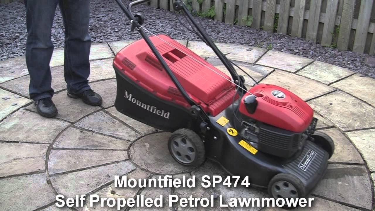 Mountfield Sp474 Petrol Lawnmower Test Review Youtube