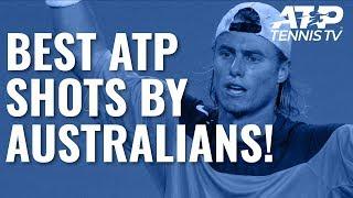 Best ATP Shots & Rallies By Australian Players! 🇦🇺