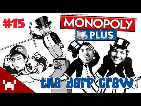 SMARTY'S AUCTION! (Monopoly Plus QUAD FACECAM w/ The Derp Crew Ep. 15)