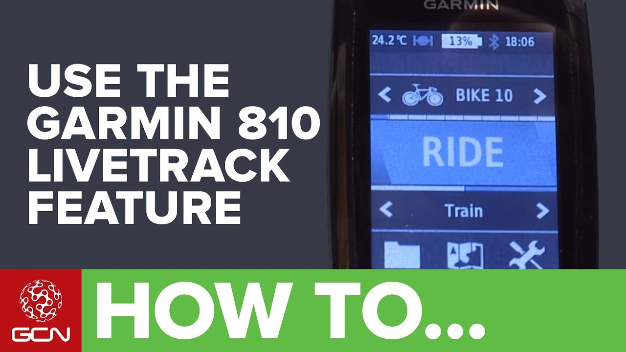 Garmin 810 - Cycle tours, touring tips and useful links