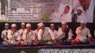 BBM Pekalongan  Live Babalan Lor Bojong  - Wulidal Habib + Ya Habibbal