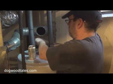 Hot Water Heater Flush And Anode Replacement