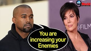 Kanye's latest Diss video against Drake, Nick & Tygon makes Kris Jenner worried for his son-in-law