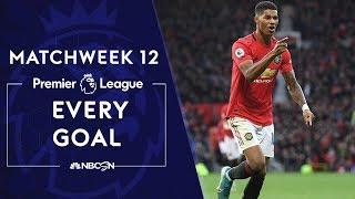 Every goal from Matchweek 12 in the Premier League | NBC Sports