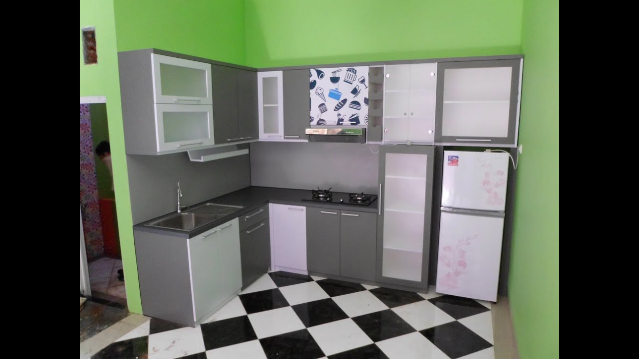 Furniture Rumah Kitchen Set Youtube