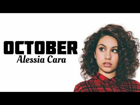 October (Alessia Cara) lyrics