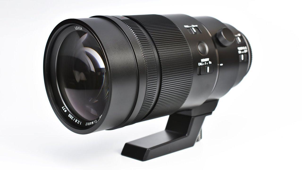In Stock Panasonic Leica Dg Elmarit 200mm F 28 Lens H Es200 Power Ois