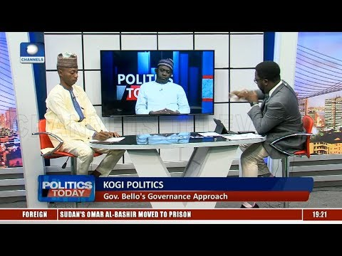 2nd Term Bid : 'Name Your Completed Projects' PDP Challenges Gov Bello  Politics Today 