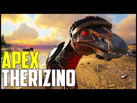 NEW DAMAGE MOUNT! - APEX THERIZINO! - Ark Survival Evolved Modded Ep 10 ( Ark Primal Fear & More )